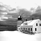 Maine & New Brunswick Lighthouses by Alana Ranney Parker