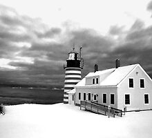 Maine & New Brunswick Lighthouses by Alana Ranney