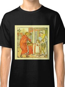 The Baby's Boquet - A Fresh Bunch of Old Rhymes and Tunes - by Walter Crane - 1900-15 Hot Cross Buns Plate Classic T-Shirt