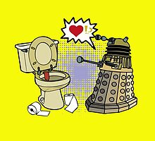 doctor who dalek love by elishe
