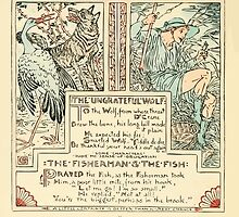 The Baby's Own Aesop by Walter Crane 1908-58 The Ungrateful Wolf, The Fisherman and the Fish by wetdryvac