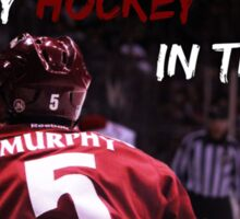 Hockey in the Desert (Murphy) Sticker