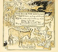 The Baby's Own Aesop by Walter Crane 1908-60 The Ass and the Sick Lion by wetdryvac