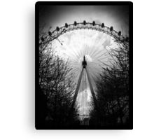 Eye Of London Canvas Print