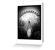 Eye Of London Greeting Card