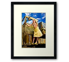 Touch Up Framed Print