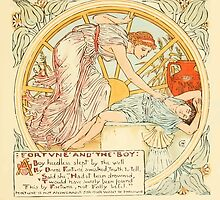 The Baby's Own Aesop by Walter Crane 1908-57 Fortune and the Boy by wetdryvac
