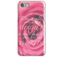 CELEBRATION OF LIFE - Mother's Day v2 iPhone Case/Skin