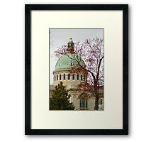 Naval Academy Dome Framed Print