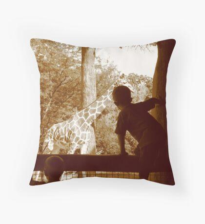 Fascination One Throw Pillow
