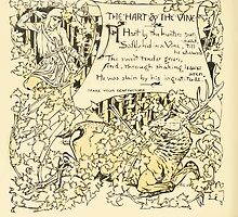 The Baby's Own Aesop by Walter Crane 1908-30 The Hart and the Vine by wetdryvac