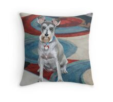 Miss Coco Throw Pillow