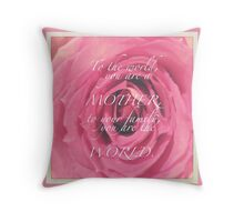 CELEBRATION OF LIFE - Mother's Day Throw Pillow