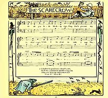 The Baby's Boquet - A Fresh Bunch of Old Rhymes and Tunes - by Walter Crane - 1900-35 The Scarecrow by wetdryvac