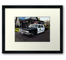 Andy of Mayberry's Car...via Leipers Fork  Tennessee.... Framed Print