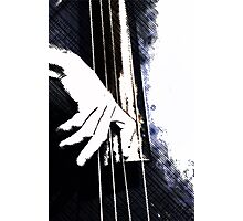 Jazz Bass Poster Photographic Print