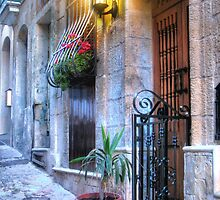Maltese House in Valletta by Rosalie M