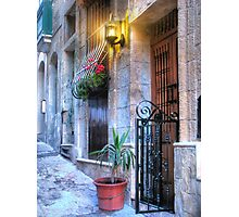 Maltese House in Valletta Photographic Print
