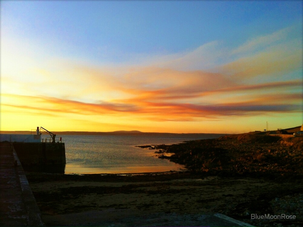 Sunset in the Western Isles by BlueMoonRose