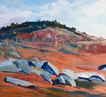 Rocky Countryside (2) around Sutton Grange, Vic Australia by Margaret Morgan (Watkins)