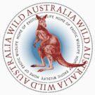 Wild Australia Kangaroo by Zehda