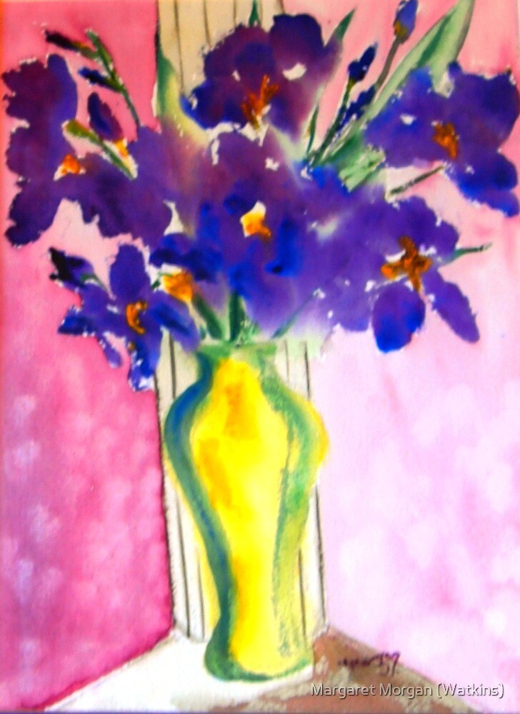 The beautiful iris by Margaret Morgan (Watkins)