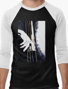 Jazz Bass Poster Men's Baseball ¾ T-Shirt