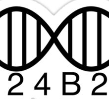 324B21 Orphan Black DNA Sticker