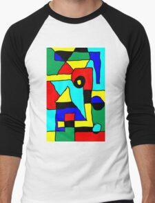 building blocks Men's Baseball ¾ T-Shirt