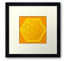 Honeycomb of Honeycombs Framed Print