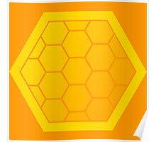 Honeycomb of Honeycombs Poster