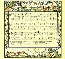 The Baby's Boquet - A Fresh Bunch of Old Rhymes and Tunes - by Walter Crane - 1900-52 Wei Hasen by wetdryvac