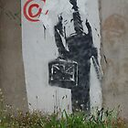 BANKSY art by the m32 by funkybunch