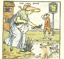 The Baby's Opera - A Book of Old Rhymes With New Dresses - by Walter Crane - 1900-33 Mrs. Bond Plate by wetdryvac