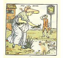The Baby's Opera - A Book of Old Rhymes With New Dresses - by Walter Crane - 1900-33 Mrs. Bond Plate Photographic Print