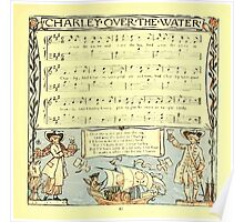 The Baby's Boquet - A Fresh Bunch of Old Rhymes and Tunes - by Walter Crane - 1900-47 Charley Over The Water Poster