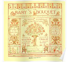 The Baby's Boquet - A Fresh Bunch of Old Rhymes and Tunes - by Walter Crane - 1900-9 Title Page Poster
