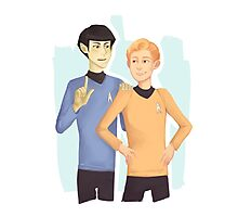 .:TOS:Star Trek:. Forever Photographic Print