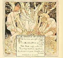 The Baby's Own Aesop by Walter Crane 1908-54 The Bundle of Sticks by wetdryvac