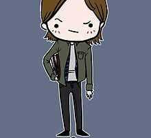 Sam Winchester (Without Antlers) by sleepyfortress