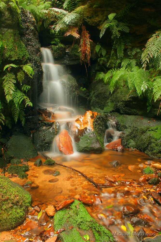 In The Valley of Orange & Green by Michael Matthews