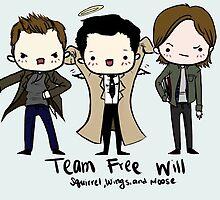 Team Free Will by sleepyfortress