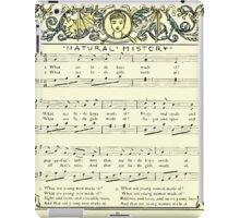 The Baby's Opera - A Book of Old Rhymes With New Dresses - by Walter Crane - 1900-20 Natural History iPad Case/Skin