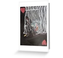 The Death of the Queen/The Wake Greeting Card