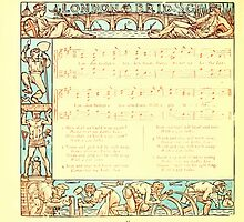 The Baby's Boquet - A Fresh Bunch of Old Rhymes and Tunes - by Walter Crane - 1900-46 London Bridge by wetdryvac