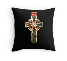 tom's cross Throw Pillow