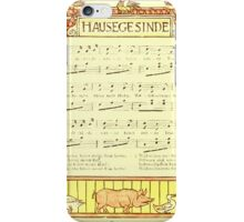 The Baby's Boquet - A Fresh Bunch of Old Rhymes and Tunes - by Walter Crane - 1900-24 Hausegesinde iPhone Case/Skin