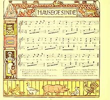 The Baby's Boquet - A Fresh Bunch of Old Rhymes and Tunes - by Walter Crane - 1900-24 Hausegesinde by wetdryvac