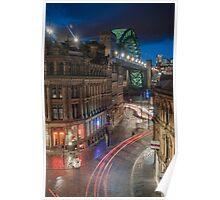 Tyne Night Lights Poster