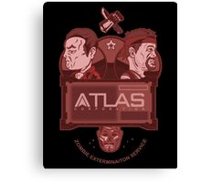 Altas Corporation Exterminators' (Alt) Canvas Print